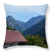 Leavenworth Throw Pillow