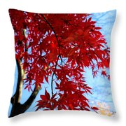 Leaves0591 Throw Pillow