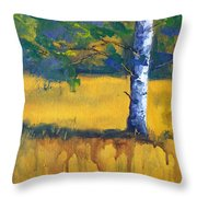 Leaving A Shadow Throw Pillow