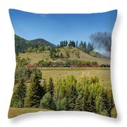 Leaving Laboto Throw Pillow