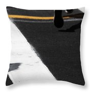 Leaving Leaps Throw Pillow
