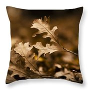 Leaving... Throw Pillow