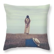 Leaving The Past Behind Me Throw Pillow