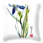 Leaving Zen Throw Pillow