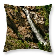 Leavitt Falls  Throw Pillow
