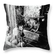 Lebanon Silk Manufacture Throw Pillow