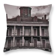 Louisiana Plantation House Throw Pillow