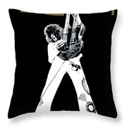 Led Zeppelin No.06 Throw Pillow by Caio Caldas