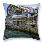 Ledge Reflections Throw Pillow