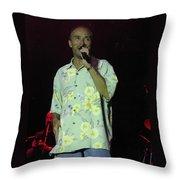 Lee Greenwood Sings Throw Pillow