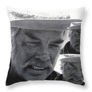 Lee Marvin Monte Walsh #1 Old Tucson Arizona 1969-2012   Throw Pillow