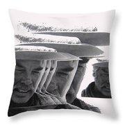 Lee Marvin Monte Walsh #2 Old Tucson Arizona 1969-2012   Throw Pillow