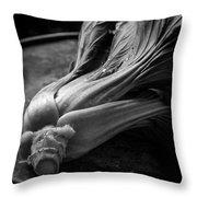 Leeks Throw Pillow