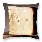 Leerdammer Cheese, Prague, Czech Throw Pillow