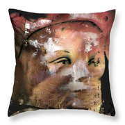 Left Alone Willingly  Throw Pillow