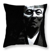 Left Brained Throw Pillow