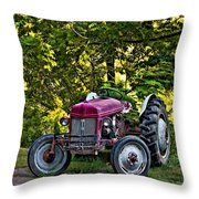 Left Fielder Throw Pillow
