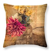 Left For A Loved One Throw Pillow