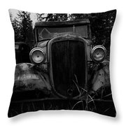 Left In The Weeds Throw Pillow