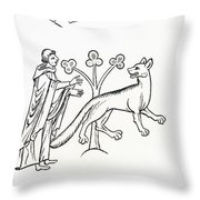 Legend Of The Priest And People Changed Throw Pillow