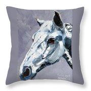 Legend - Sport Horse Throw Pillow
