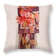 Legs Of A Flower Throw Pillow