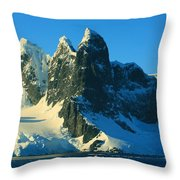 Lemaire Channel Antarctica Throw Pillow