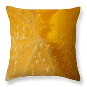 Lemon 45 Throw Pillow