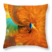 Lemonade With A Twist Throw Pillow