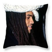 Lenny Kravitz Throw Pillow