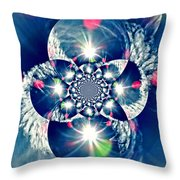 Lens Flare Throw Pillow