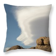 Lenticular Cloud Throw Pillow