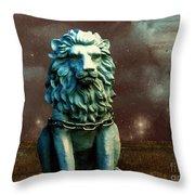 Leo Celestial Throw Pillow