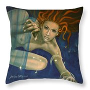 Leo From Zodiac Series Throw Pillow