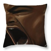 Leo The Great Gatsby Throw Pillow