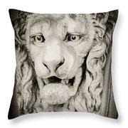 Leo Throw Pillow by Tony Grider