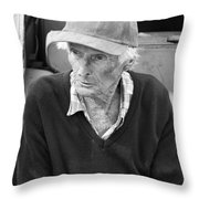 Leonard Knight Throw Pillow