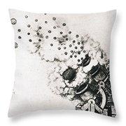 Leonardo: Cannon Throw Pillow