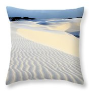 Leoncois Maranhenses Beauty Of Sand Throw Pillow
