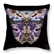 Leopard Heart Bowl Throw Pillow