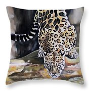 Leopard N.2 Throw Pillow