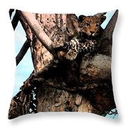 Leopard Spotted Throw Pillow