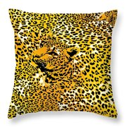 Leopard Texture Throw Pillow