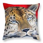 Leopardo Throw Pillow