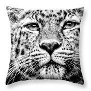 Leo's Portrait Throw Pillow