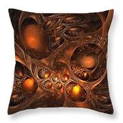 Leptonite Caverns Throw Pillow