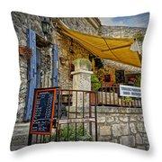 Les Baux De Provence France Dsc01887 Throw Pillow