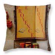 Les Baux De Provence France Dsc01931 Throw Pillow