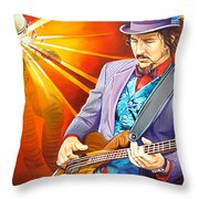 Les Claypool's-sonic Boom Throw Pillow