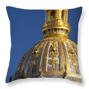 Les Invalides Dome Throw Pillow